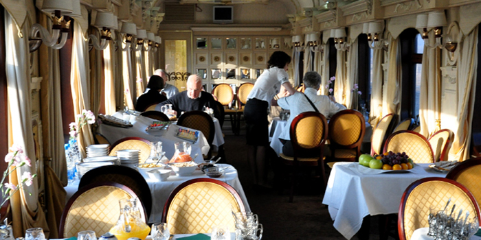 Tren Golden Eagle Express: Restaurante