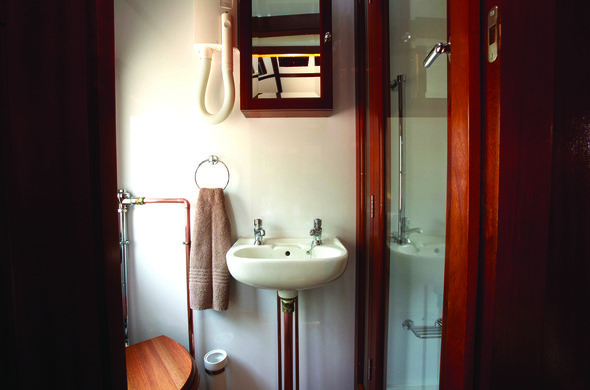 Gold Suite, Baño