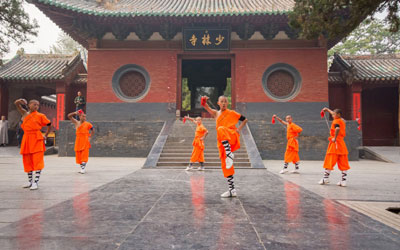 Monasterio Shaolin, China
